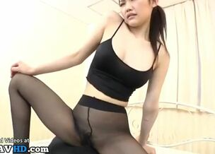 Pantyhose sexy girl